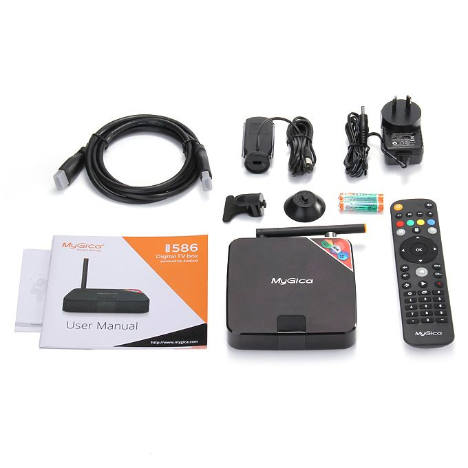 MyGica ATV586 Hybrid Android TV Box with HDTV Receiver Tuner DVR