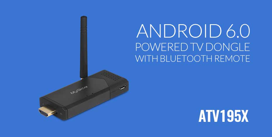 Android 6.0 Marshmallow TV Dongle