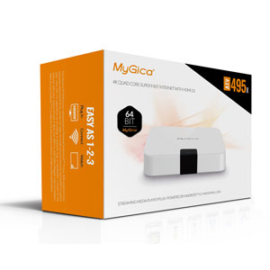MyGica ATV495X Android 6 0 Marshmallow 4K Smart Set-top TV Box