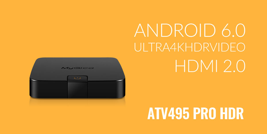 4K HDR Android 6.0 Marshmallow Streaming Media Player