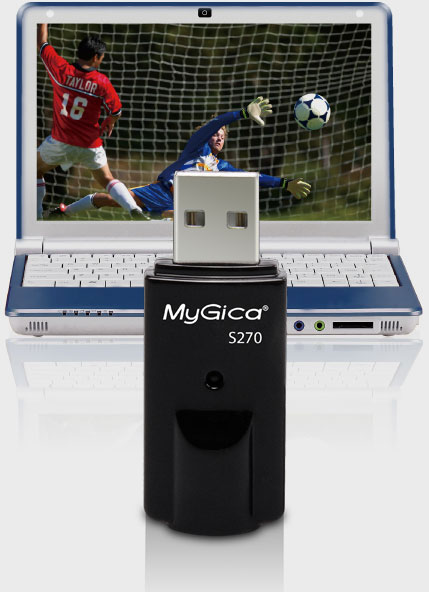 MyGica S270 is USB ISDB-T TV Stick Dongle