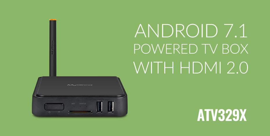 Android 7.1 Marshmallow Set-top Box supports HDR and digital tv tuner