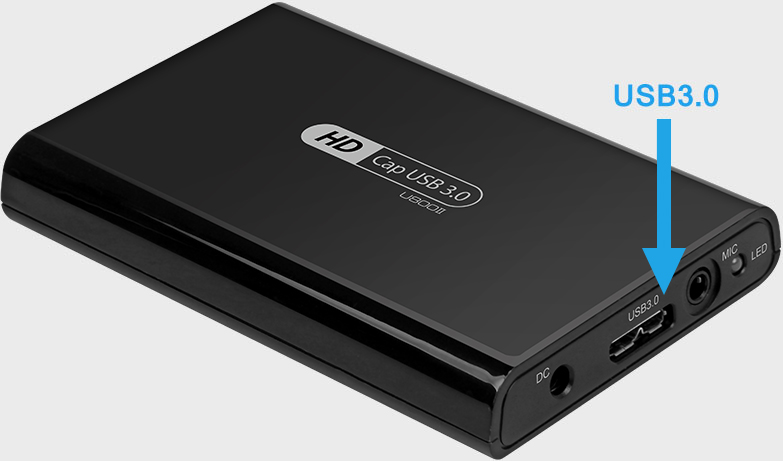 dispositivo de captura de video USB 3.0 sin controlador