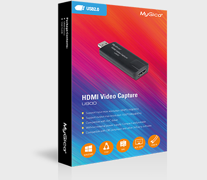 HD 1080p game video capture